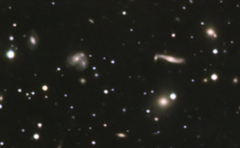 The galaxy cluster Abell 2151 in Hercules
